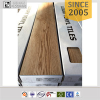 2017 non toxic non-slip oak sound isolated PVC Vinyl Flooring Tiles/ PVC Dry Back Glue Down (2mm, 2.5mm, 3mm)