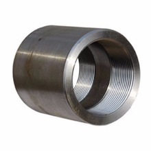 NPT/BSP stainless/carbon steel socket weld pipe coupling,threaded half/full coupling