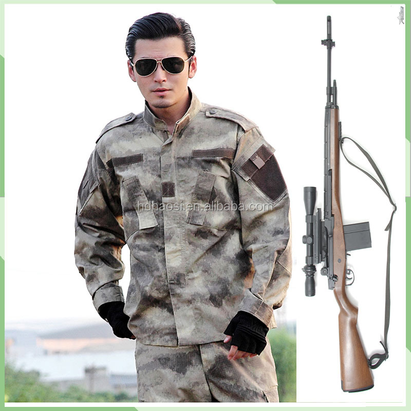 High quality ripstop camouflage mil-tec military uniform multicam