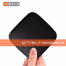International Version Xiaomi Mi Box 3 2GB/8GB 4K WiFi Media Player android xiaomi tv box 3