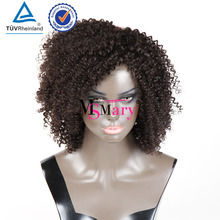 Blonde curly wigs human hair afro wigs kinky curly european full lace wigs with baby hair