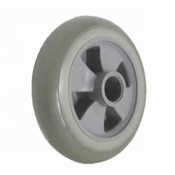 Wholesale PU Solid Quiet, Non-Polluting,Reliable,Long-Lasting Plastic Stroller Wheel
