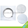 Bathroom plastic floor drain strainer
