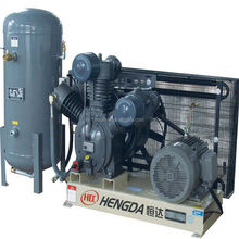30 Bar High Pressure Air Compressor with Air Tank for PET Blowing