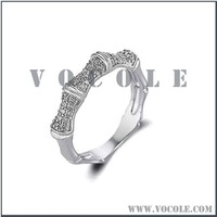 platinum ring price in India silver stainless steel diamond jewelry