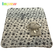 Hot sale baby popular <strong>toys</strong> head with blanket gift <strong>toys</strong>