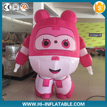 2015 popular advertising inflatable rabbit cartoon,inflatable moving rabbit mascot