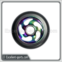 neo chrome Pro stunt scooter pu wheels kick scooter 100mm 110mm 120mm