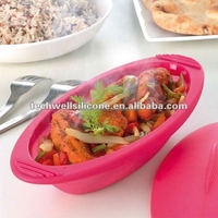 Techwell KT-010 oval shape silicone baking case