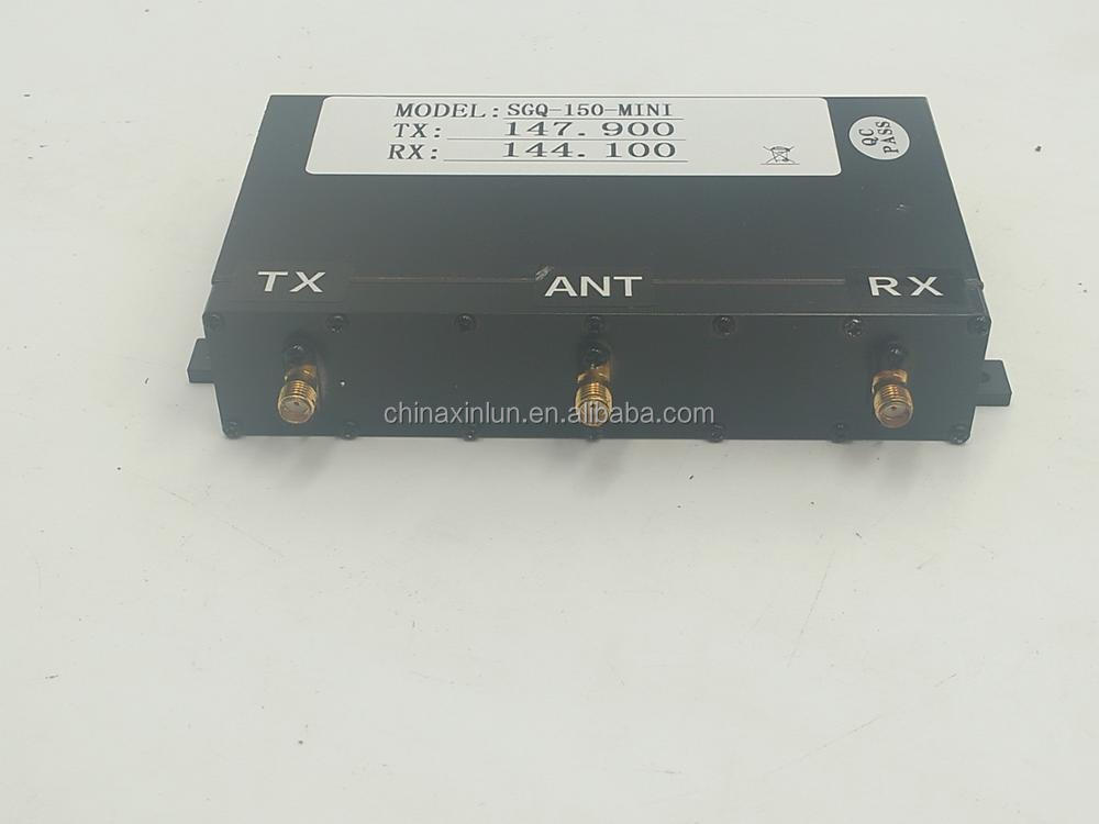 Low Power 10W VHF 136-174MHz Mini Duplexer for Hytera RD960/RD962/ RD965 Repeater