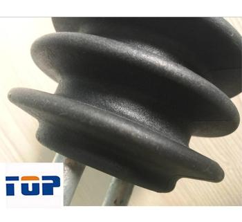 Pull wire tension10KV-20KV 90KN-120KN line post Nylon rubber insulator
