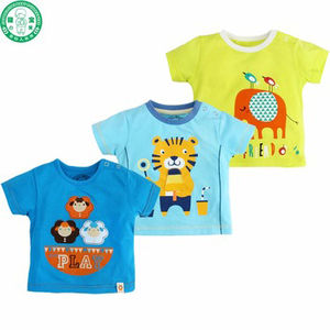 Baby clothing 0-12 Months baby Boys Cartoon T-shirts