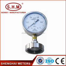 High quality diaphragm chemical seal pressure gauge