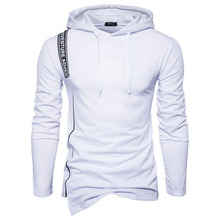 100% pre-shrunk cotton snowboard tall hoodies high quality white hoodie