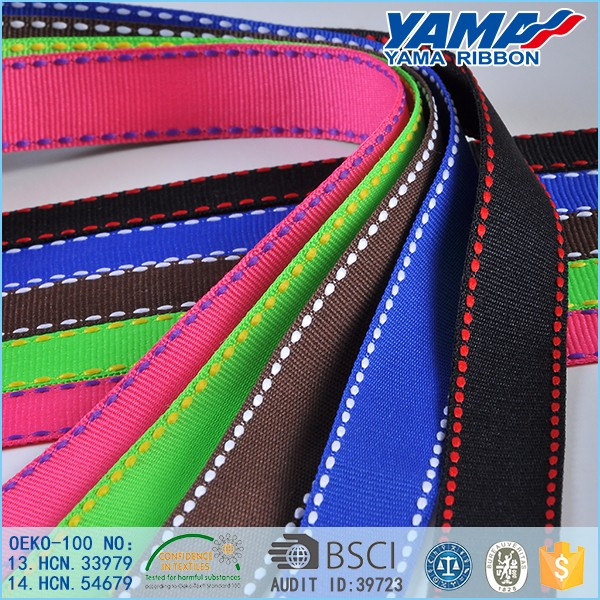 Factory supply best price 3 inch double faced solid color celebrate it grosgrain ribbon