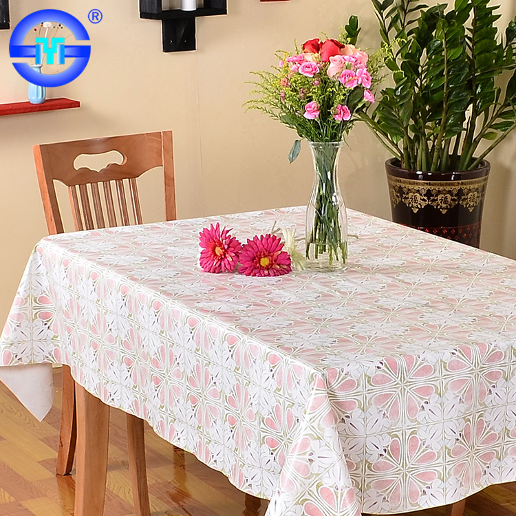 Accept Custom Order round polka dot small plastic lace tablecloth 90 inch