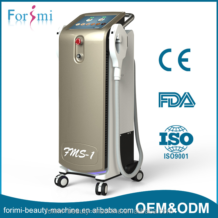 Hot for clinic use medical equipments 3 in 1 ipl skin treatment system
