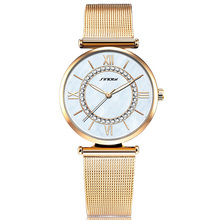 Mesh belt Ladies Watch Fashion Waterproof Lady Watch