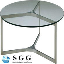 High quality 12mm rectangle dinning table
