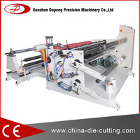 slitting and rewinding machine for paper adhesive film plastic film