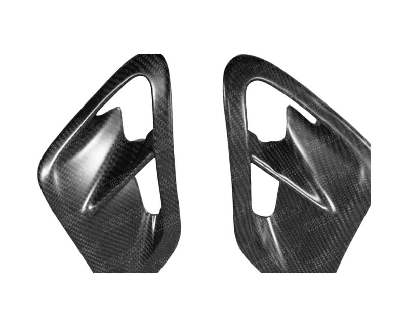 3K 6K 12K CARBON FIBER SIDE VENT FOR 2005-2012 PORSCHE TURBO 911 997