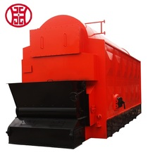 Hot Sale 2ton 6ton coal rice husk fuel steam boiler equipment for rice mill