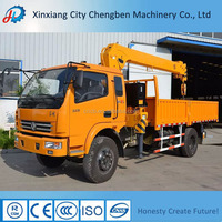 High Efficiency Lifting Grove Hydraulic Truck Crane