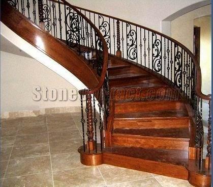 Escaleras marmol rojo escaleras identificaci n del for Marmol para escaleras precio