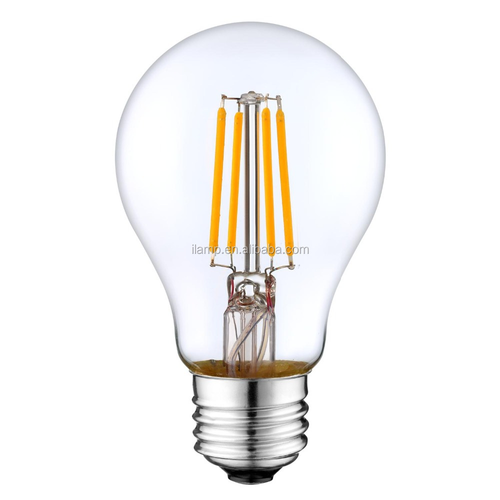 a60 220v 8w ce erp dimmable led <strong>bulb</strong> rohs 6w high quality all glass e27 led light <strong>bulb</strong>,4w high CRI filament led <strong>bulb</strong>