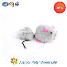 Top Selling Motor Running Mouse Toy Faux Fur Cat Toy