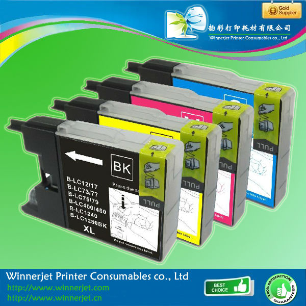 Low price For Brother Lc17 Lc77 Lc79 Lc450 Lc1280xl Compatible Ink Cartridge With High Capacity