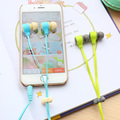 Colorful Macaroon Earphones and In-Ear with Macaroon Auriculares for Smartphone mp3 Headset without Retail Package