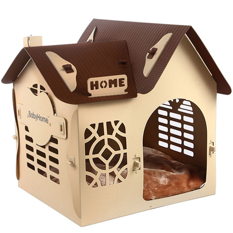 Dog Product Durable Plastic Pet Dog House For Sale