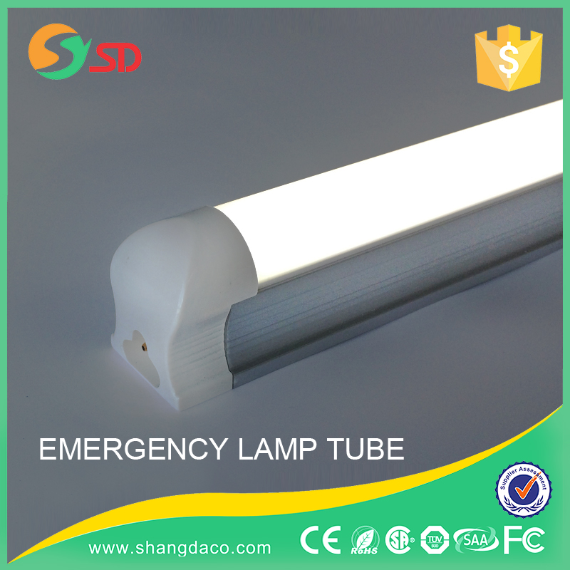 1200mm 18w emergency t8 led tube 66 light with Battery Back Up