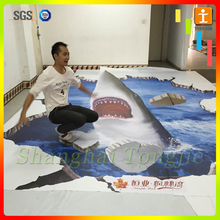 2015 High quality 3d pvc floor sticker with hot-selling