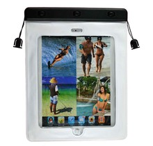 Wholesale PVC 100% waterproof diving case for ipad mini tablet waterproof bag