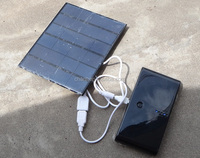 6 v 3.5 W solar charger solar glue plate DIY mobile power bank,polycrystalline silicon solar cells