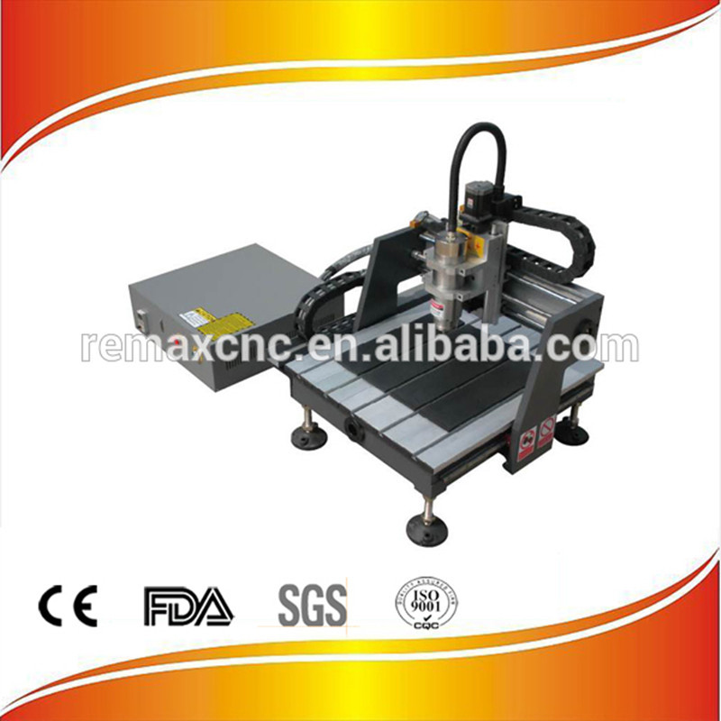 Remax-3030 Mini CNC Router Cast By Iron, 1.5KW 3030 CNC Router Machine