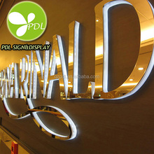 Get!! High Quality Custom Made Backlit 3D Acrylic Led Logo Sign