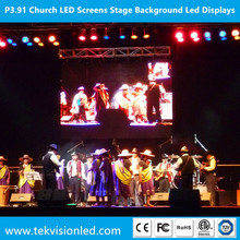 P3.91 Church LED Screens / 3.91mm Stage Background Led Displays