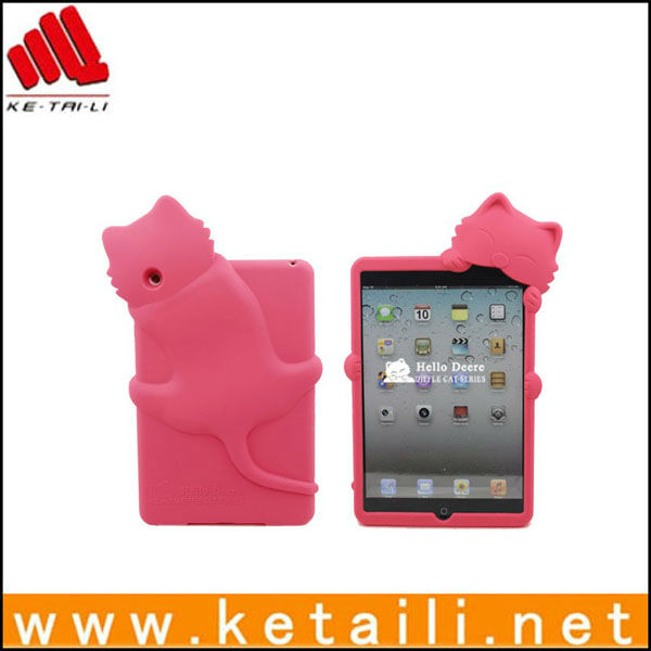 animal shape case for ipad mini , professional manufacturer