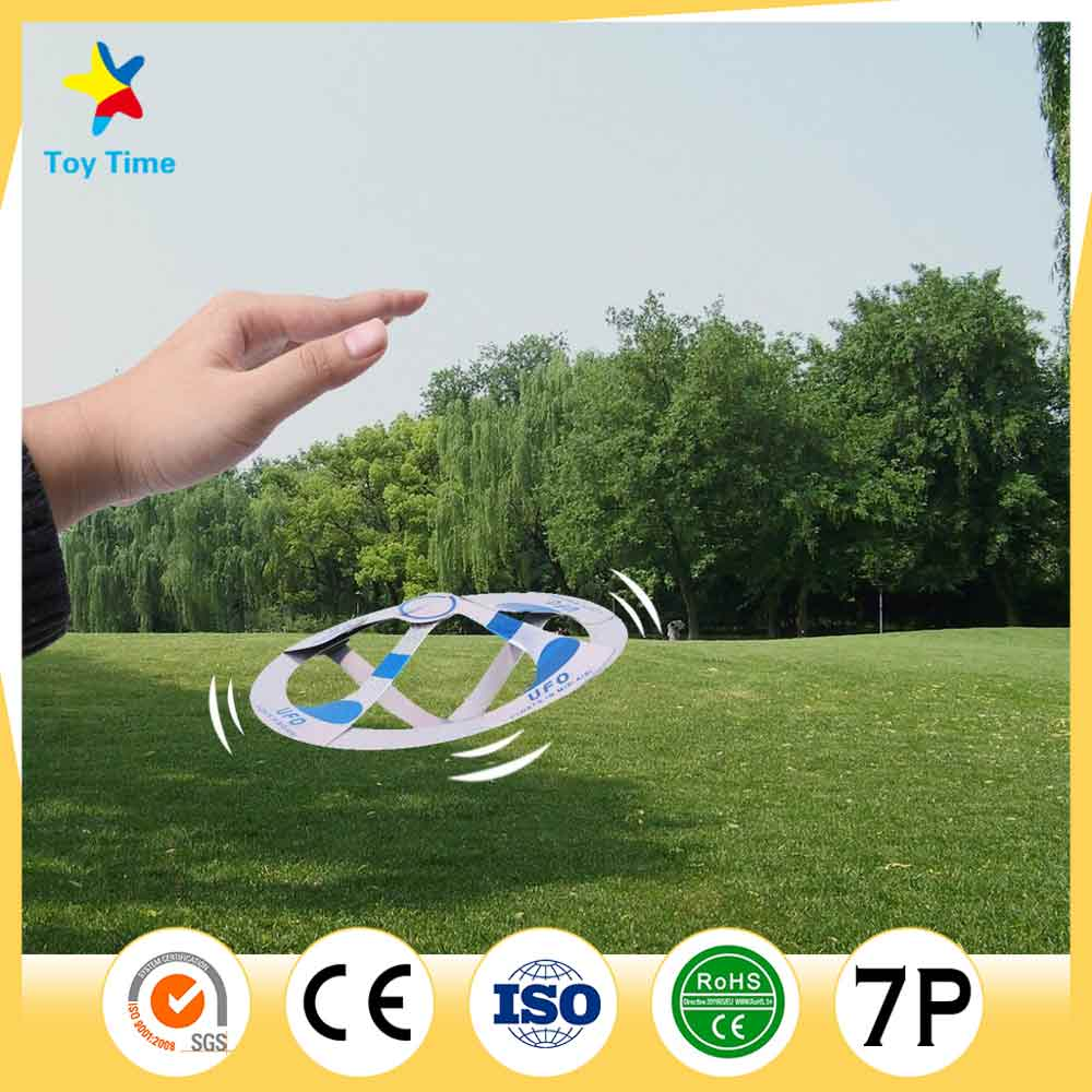 Fashion Magic New Mystery UFO Floating Flying Saucer Toy Magic Trick Suspended UFO