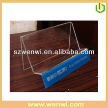 Clear Acrylic Laptop Holder For Store
