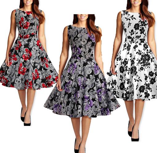 Rockabilly Dress Butterfly Design