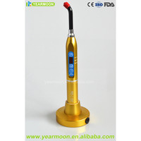 New Arrival Golden Finished Dental LED Curing Light Lamp Metal Material /Fast solidification/Good Heat Dissipation