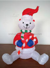 Wholesale inflatable Xmas snowman for christmas decoration