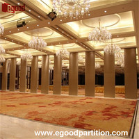 conference room partition walls panels sliding door insallation drawing