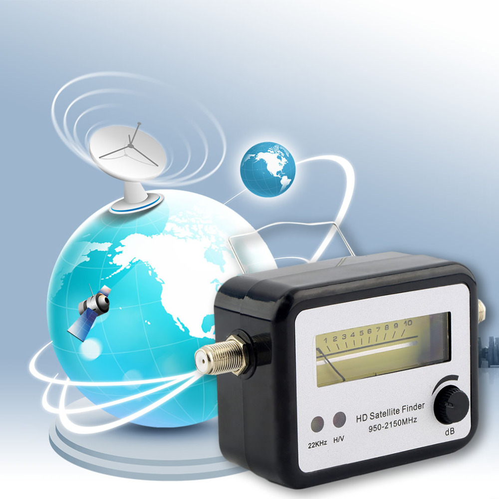 Analogl <strong>Satellite</strong> Signal Finder Meter Compass FTA TV Signal Receiver & Finder ,Hot Worldwide and Newest in 2017!!!