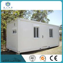 Professional custom 20 ft portable sandwich panel container house insulation shanghai container house