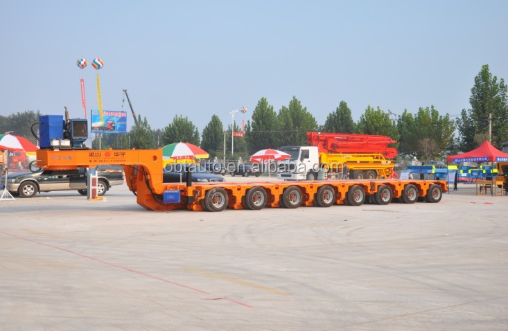 Exclusive designed Special modular low bed semi trailer